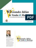 Administração - Marketing - 61 Idéias de Vendas e Marketing