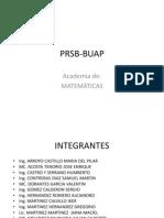 PRSB-BUAP