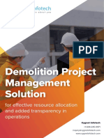Demolition Project Management Solution