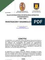 INVESTIGACION Y DESARROLLO EN EL PERU