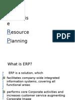 ERP I SAP recap