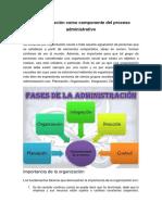 La Organización como elemento de administración