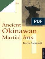 Artes marciales ancestrales de Okinawa P McCarthy