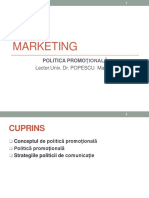 11 Politica promotionala