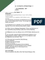 MMM 2 paper 2007