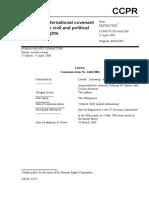 Lumanog and Santos v The Philippines, Case No. 1466-2006