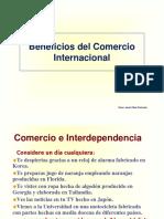 Beneficios del Comercio Internacional e Interdependencia.ppt