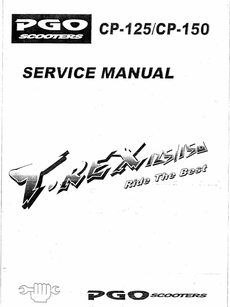 PGO Arriba 125_150 Service Manual