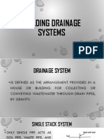 BUILDING DRAINAGE SYSTEMS