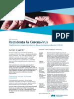 Rezistenta La Coronavirus Pregatiri Si Masuri de Raspuns Pentru Companii 2020