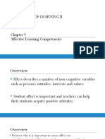 Chapter 5 Affective Learning Competencies