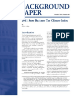 The Tax Foundation - 2011 State Business Tax Climate Index