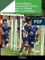 Libro 60 Unidades de Preparación Física Fútbol Escolar y Amateur Ariel González