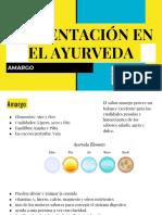 ALIMENTACIÓN EN EL AYURVEDA