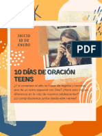 10 ideas para la oración del adolescente