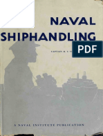 Naval Shiphandling (Sea)
