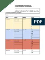 Planificación de talleres para segundo ciclo_ (1) (Reparado)