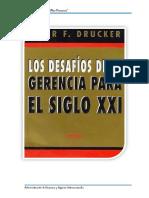 LOS DESAFIOS PARA LA GERENCIA DEL SIGLO XXI