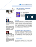 Success - The One Minute Millionaire - Business Summaries