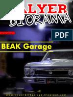 Talyer Diorama - Volume III - Beak Garage