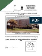 Programme Des UVs PH III