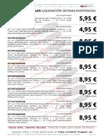 202001 Vematel Liquidación Kits Destornilladores