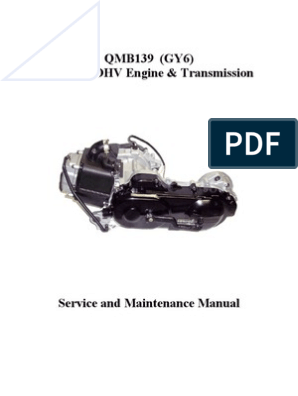 GY6 Service Manual