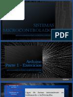 Microcontroladores Exercicios