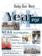 The Daily Tar Heel for December 8, 2010