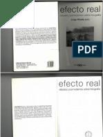 Ribalta J (Ed) Efecto Real. Debates Posmodernos Sobre Fotografía