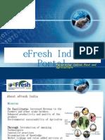 eFresh Technical Presentation