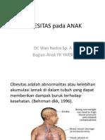 11.1. Obesitas pada Anak