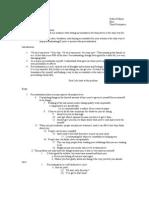 Persuasive Sample Outline #3