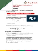 Guía para el cálculo de Interés Retención de Impuestos y Mantenimiento de Valor - Cuentas de Ahorro