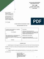 LDS Racketeering Lawsuit