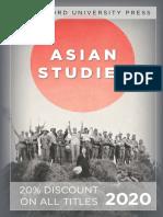 Stanford University Press   Asian Studies 2020 Catalog