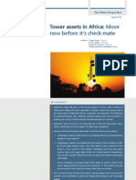 Tower assets in Africa