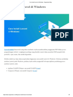 Cara Install Laravel di XAMPP Windows