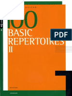 100 Basic Repertoires Vol. 2 by Zen-On Guitar Library (1)