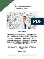 PROYECTO CORONEL PORTILLO Trabajador Municipal Independiente