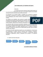 La Gestión de la Educación y la Gestión del Centro.pdf