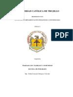 UCT- TRABAJO CON PADRES Y COMUNIDAD