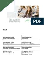 TELC C1 Hochschule Practice