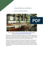Arq. bioclimática en la CDMX