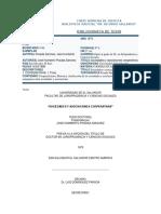 Sociedades y Asociaciones Cooperativas