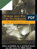 Lentner Howard - Power & Politics