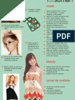 Interpretare Sumar Cosmopolitan - Design Grafic