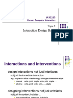 HCI-2 Interaction Design Basic