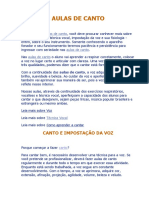 AULAS DE CANTO 4
