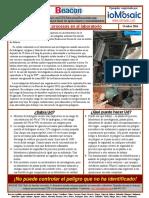 10 Process Safety Beacon - Octubre 2016 - Spanish